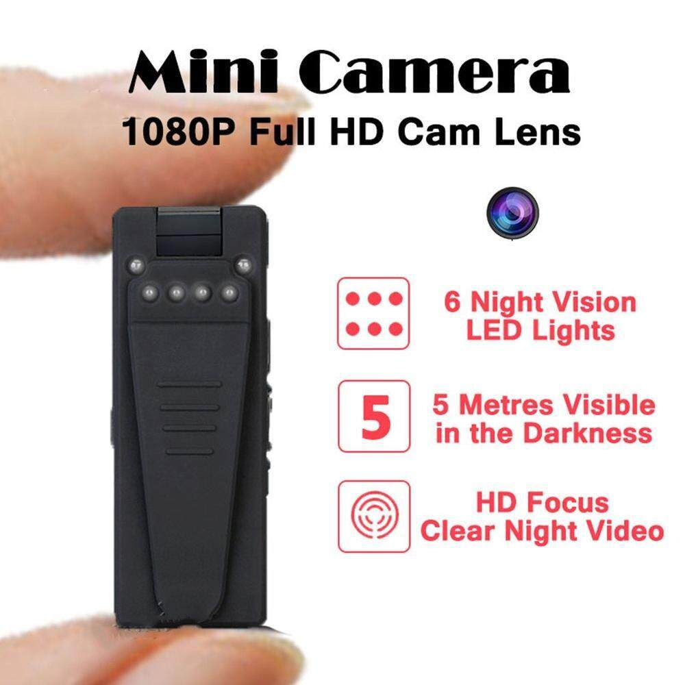 Chux Infrared Night Vision Webcam 1080p Mini Camera Hd Camcorder With Motion Sensor Video Voice Audio Recorder Micro Secret Cam By Chux.
