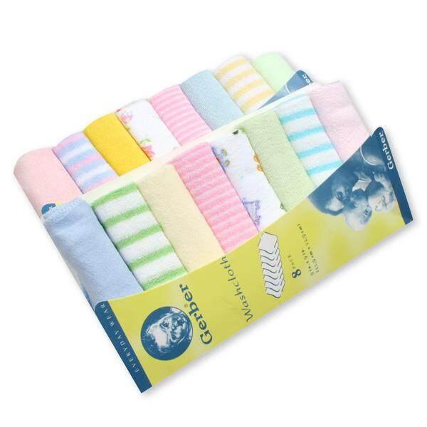 Gerber Newborn Baby Girl/Boy Handkerchief Washcloth 8pcs
