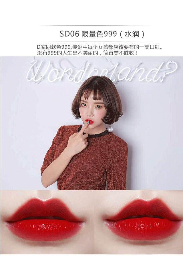 【Sd06 Kuantitas Terbatas 999】 Wanita Hamil Tersedia Vitamin Lipstik Matte Melembapkan Tahan Lama Penghilangan Warna Merah Muda Jeruk Lipstick Lip Gloss Bibir Menggigit Makeup Lipstik Anak Sekolah-Intl