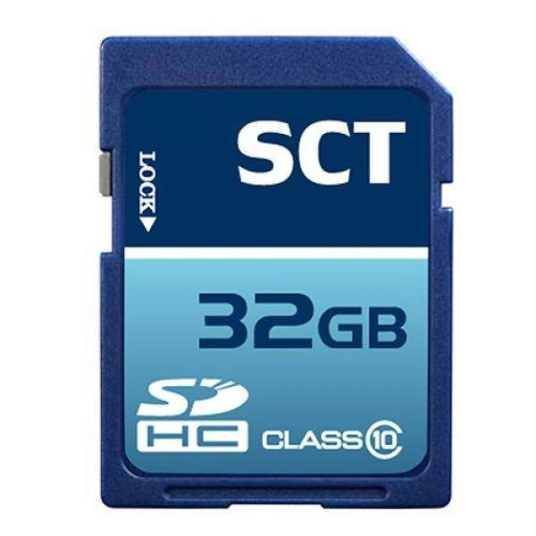 32 GB SD Kelas 10 SCT Profesional Kecepatan Tinggi Kartu Memori SDHC 32G (32 GIGABYTE) kartu Memori untuk Kamera Digital Canon EOS Rebel T1i T2i EF-S 60D 450D 500D 550D 1000D XS XSI dengan Custom Format-Intl
