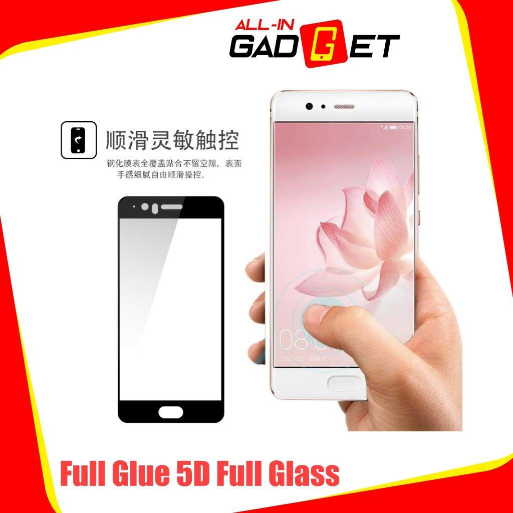 Fitur Tempered Glass 5d For Redmi 5 Plus 2018 Full Lem Screen Cover New Xiaomi Glue Protector White 4