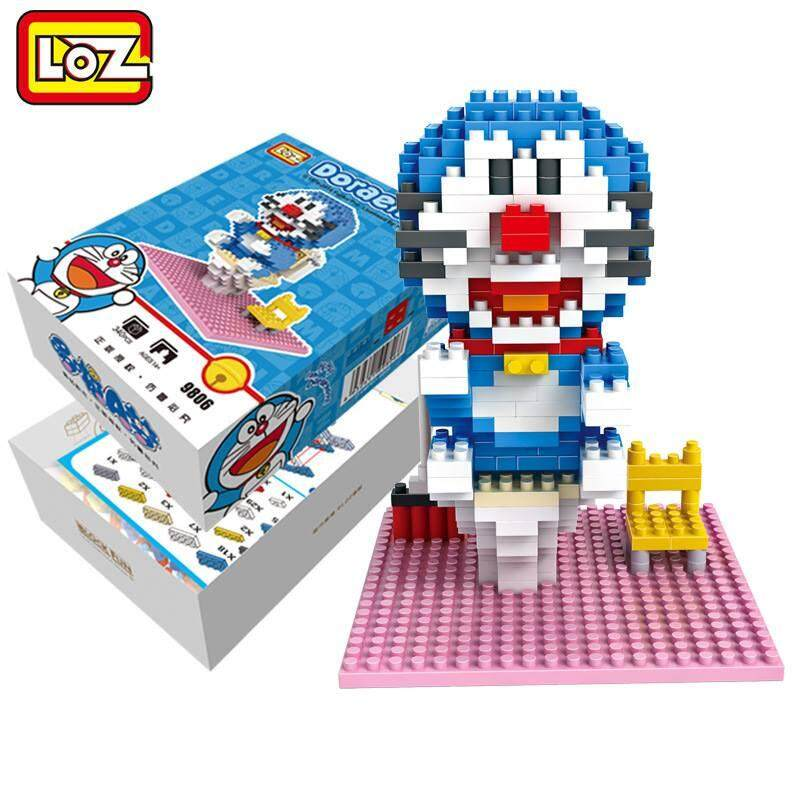 LOZ DIY Doraemon Nanoblock Puzzle 3