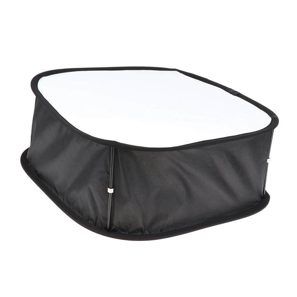Miracle Shining Foldable Softbox Diffuser for Yongnuo YN900/600 LED Video Light Panel Black