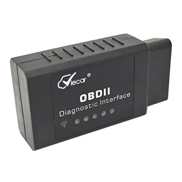 WiFi OBD2 OBDII EOBD Car Diagnostic Scanner Adapter Wireless Code Reader Check Engine Light on Android Windows IOS Smartphone Laptop iPhone iPad Torque Pro for OBD 2 Protocol Vehicle since 1996 - intl