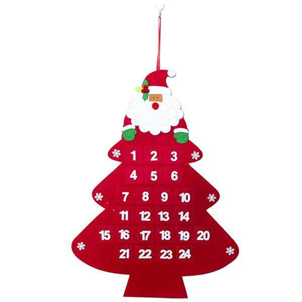 Mua Christmas Advent Calendar Hanging Christmas Countdown Calendar for Christmas Decorations(Tree)
