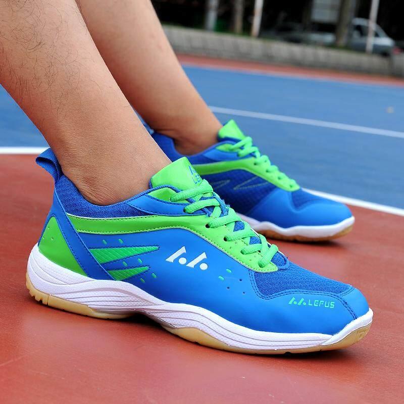 Yealon Sepatu Bulutangkis Wanita Pria Sneakers Wanita Sneakers Pelatihan Bernapas Anti-Slippery Ringan Sneakers Sepatu Bulutangkis Sepatu