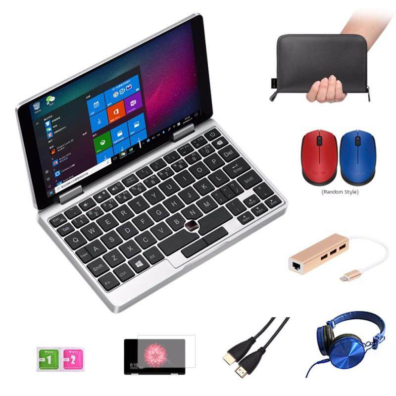 One Netbook One Mix Yoga Pocket Laptop 7 IPS Touch Screen Windows 10 8GB DDR3 / 128GB eMMC w/ Stylus Silver