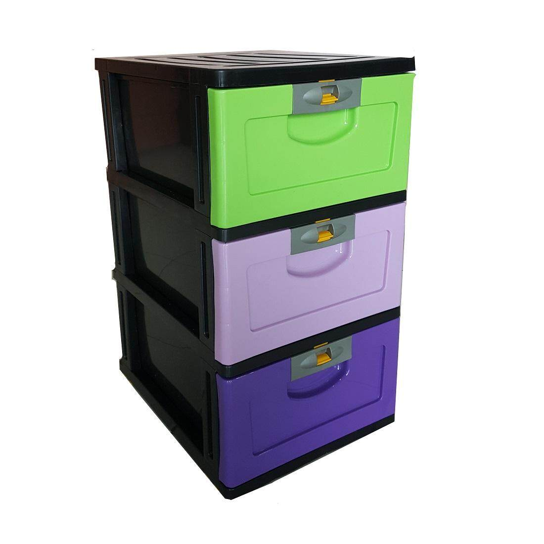 (OW) 3 Tier A4 Drawer