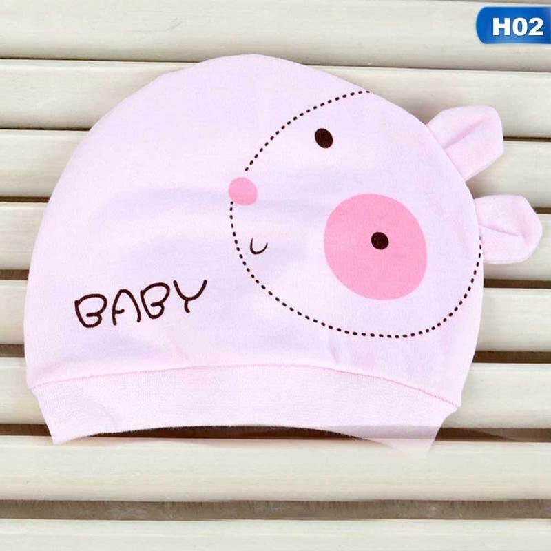f6a69e8fd94f7c BZY Baby Hat Cute Cotton Hats for Newborns Baby Handmade Caps Infant  Cartoon Soft Caps H02