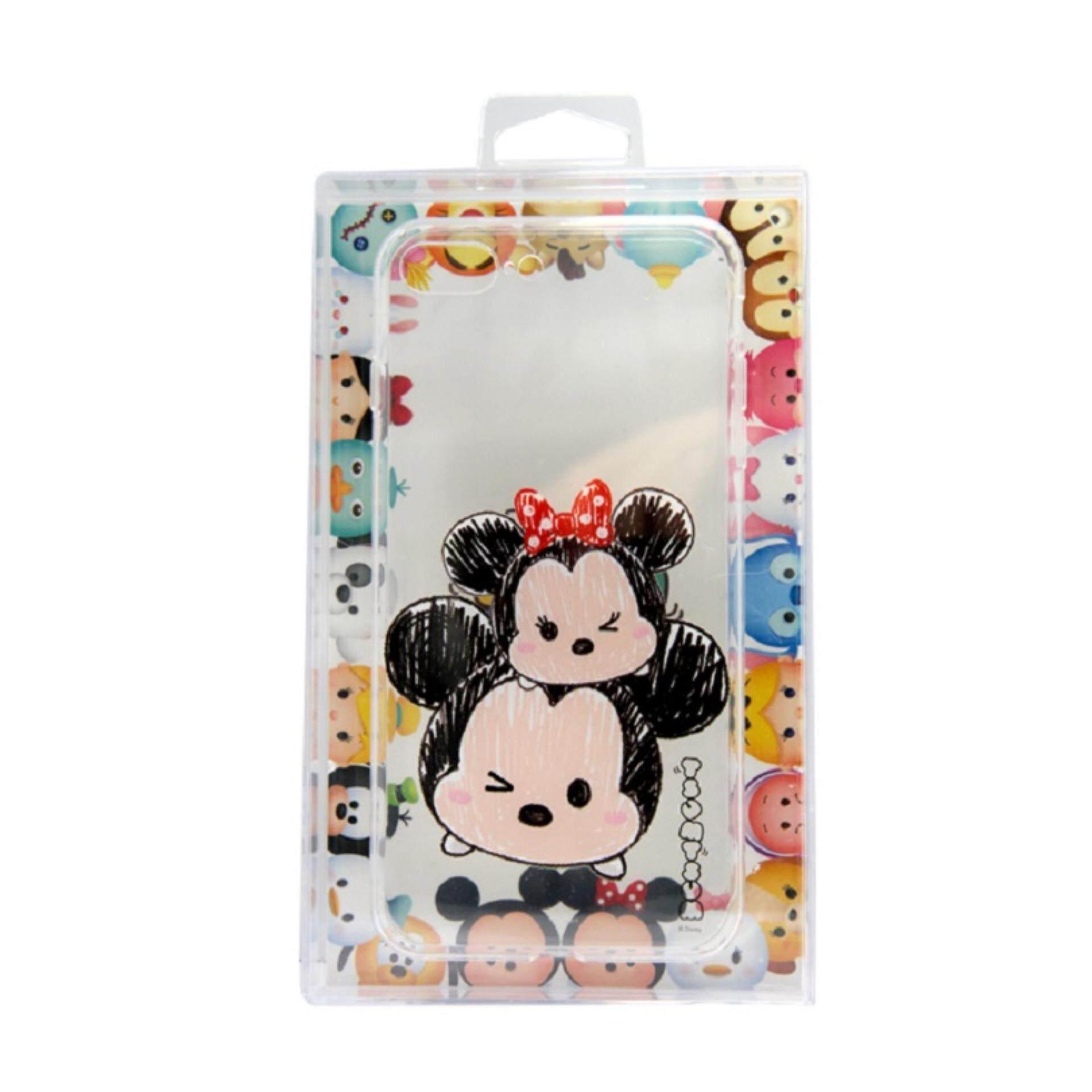 newest 4fb0e c44f2 Disney Tsum Tsum Transparent iPhone 7 Plus Case - Mickey & Minnie
