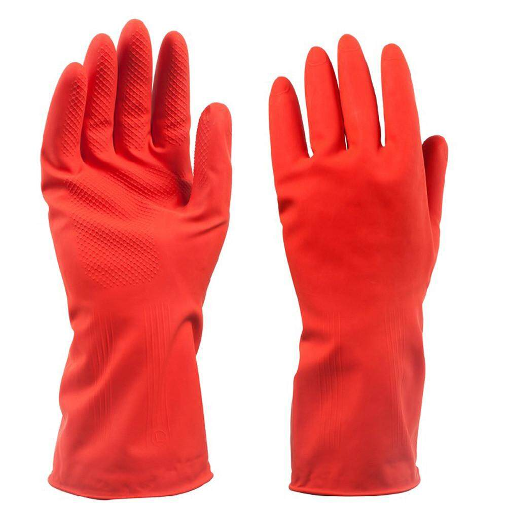 Osbornshop Durable Dishwashing Home Warm Laundry Waterproof Household Cleaning Gloves