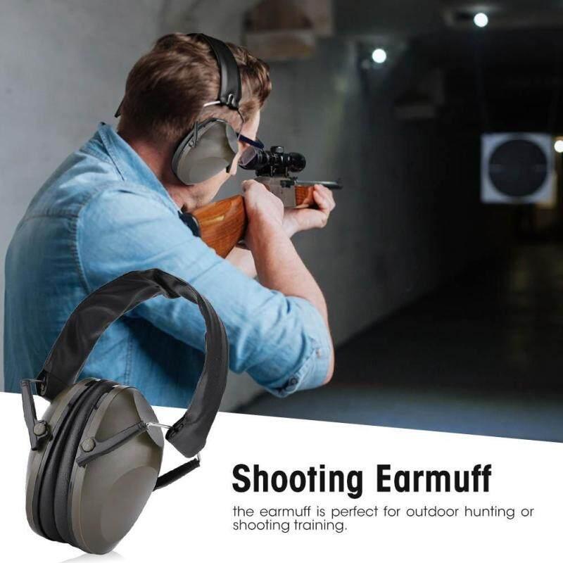 1PCS Shooting Earmuffs Antinoise Sports Hunting Hearing Protection Active Earmuffs (Army Green)