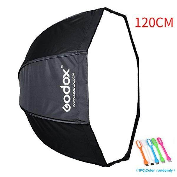 Godox 47\/120cm Umbrella Octagon Softbox Reflector with Carrying Bag for Portrait or Product Photography +SUPON USB LED free gift (120cm)