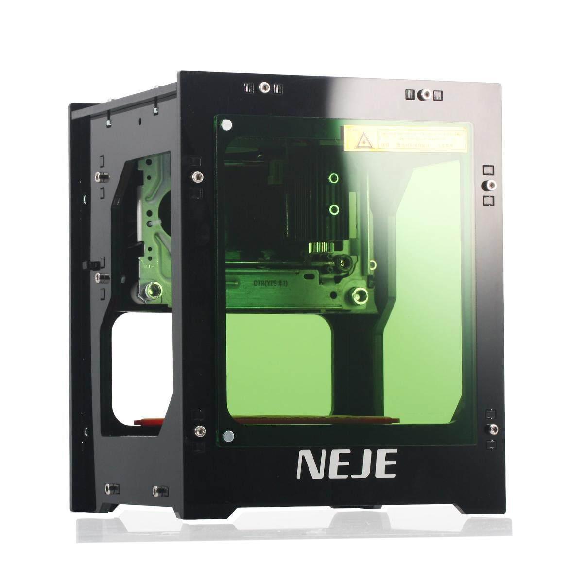... Neje DK-8-FKZ 1500 MW Diy Laser Pemotong Pemahat Mesin Pahat Printer Baru ...
