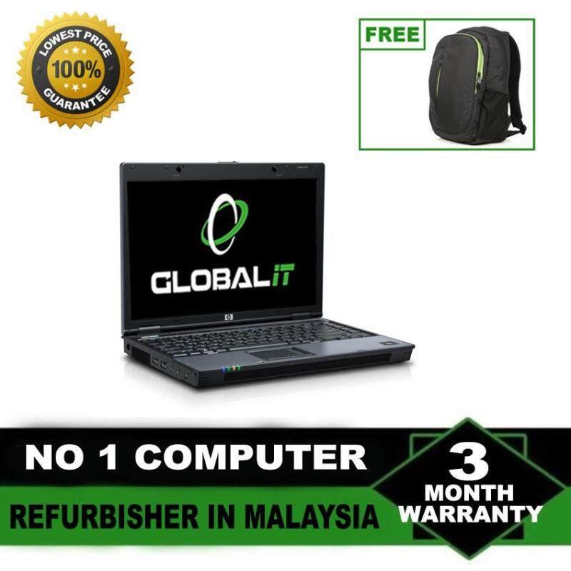 (Refurbished Notebook) HP Compaq 6710 14 LCD Laptop / Intel Core 2 Duo / 80GB Hard Disk / 2GB DDR2 Ram / Windows XP / Factory Refurbished Malaysia