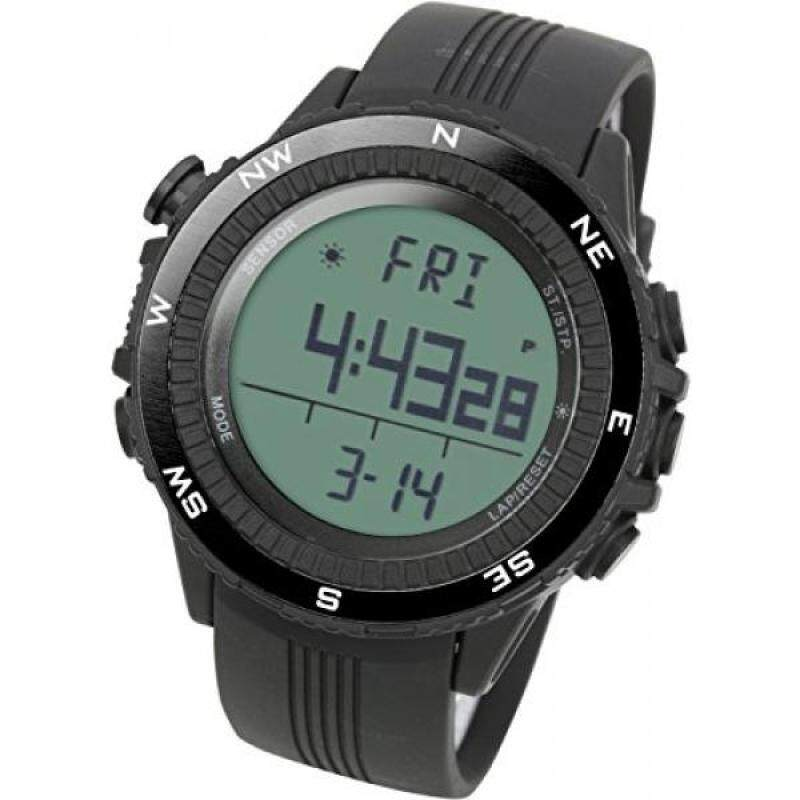 [LAD WEATHER] German Sensor Digital Compass Altimeter/barometer/weather Forecast/ Multi-function/ Outdoor Climbing/running/walking Sport Watch Malaysia