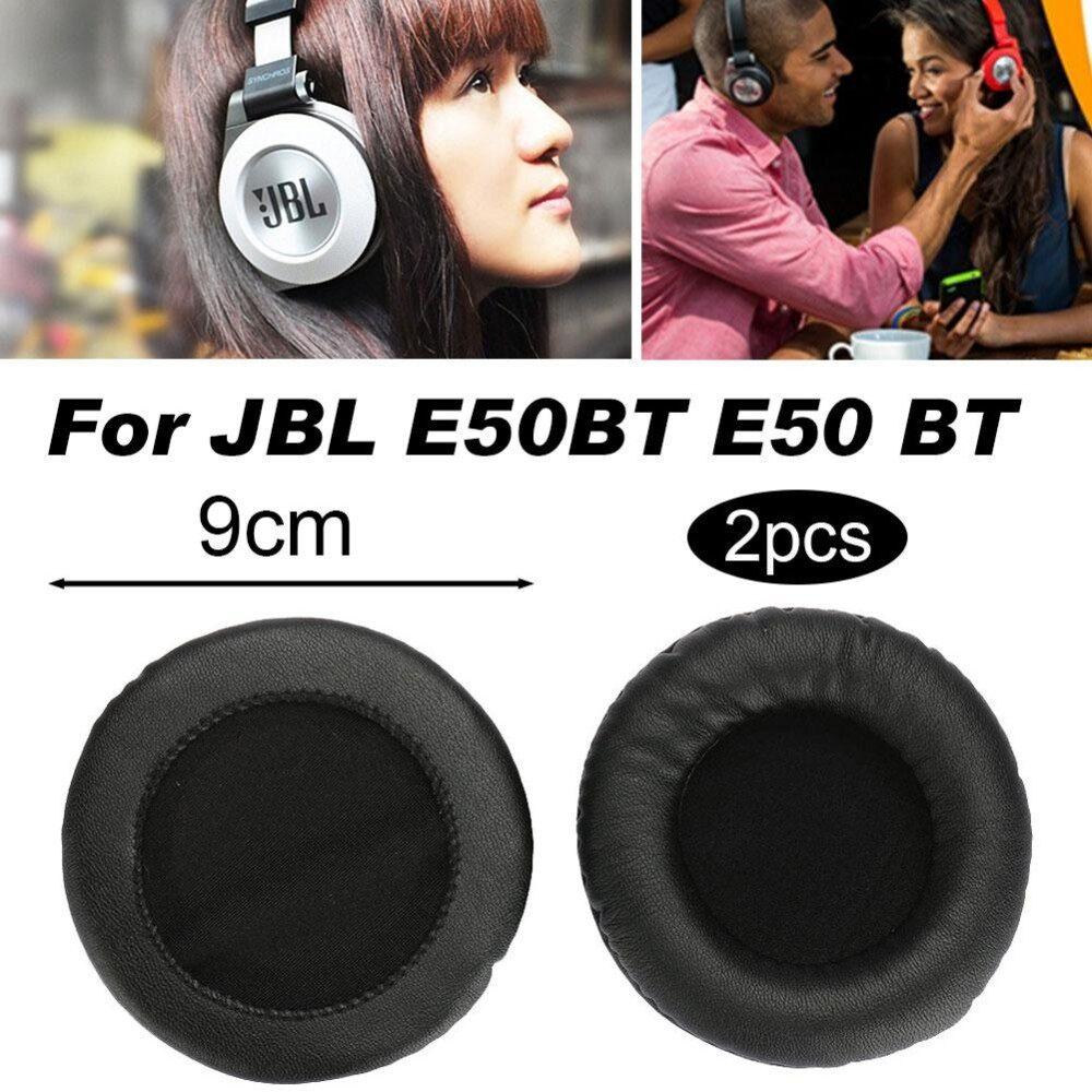 Detail Gambar Telinga Bantalan Bantalan Telinga Bantalan Sarung Lembut 2 Pcs Hitam Earmuff Penggantian untuk JBL