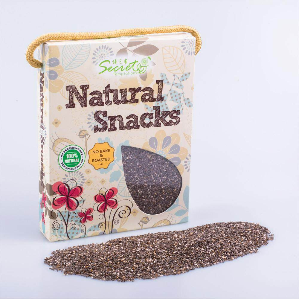 [FREE GIFT]Secret Temptations Natural Chia Seed Combo Pack (100gm)