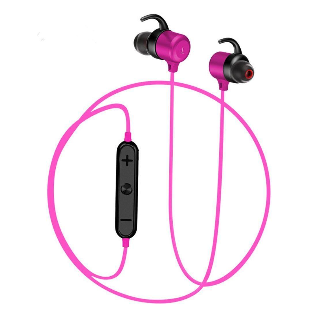 BTH-Y8 Ultra - light EAR - Hook Wireless V4.1 บลูทูธหูฟังชนิดแม่เหล็ก, สำหรับ iPad, iPhone, Galaxy, huawei, Xiaomi, LG, HTC และโทรศัพท์สมาร์ทอื่นๆ (สีเขียว)