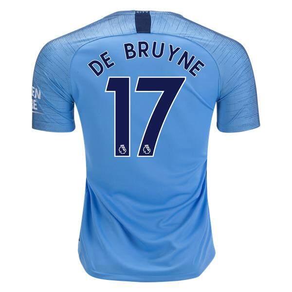 newest 18af6 b2726 Kevin De Bruyne City 18 19 Home Jersey