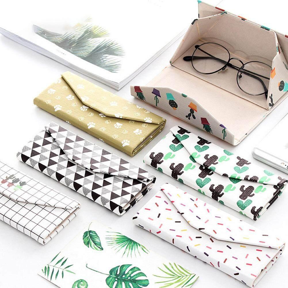 Mua Redcolourful Cute Triangle Creative Eye Glasses PU Shell Reading Myopia Glasses Hard Case Protector Box