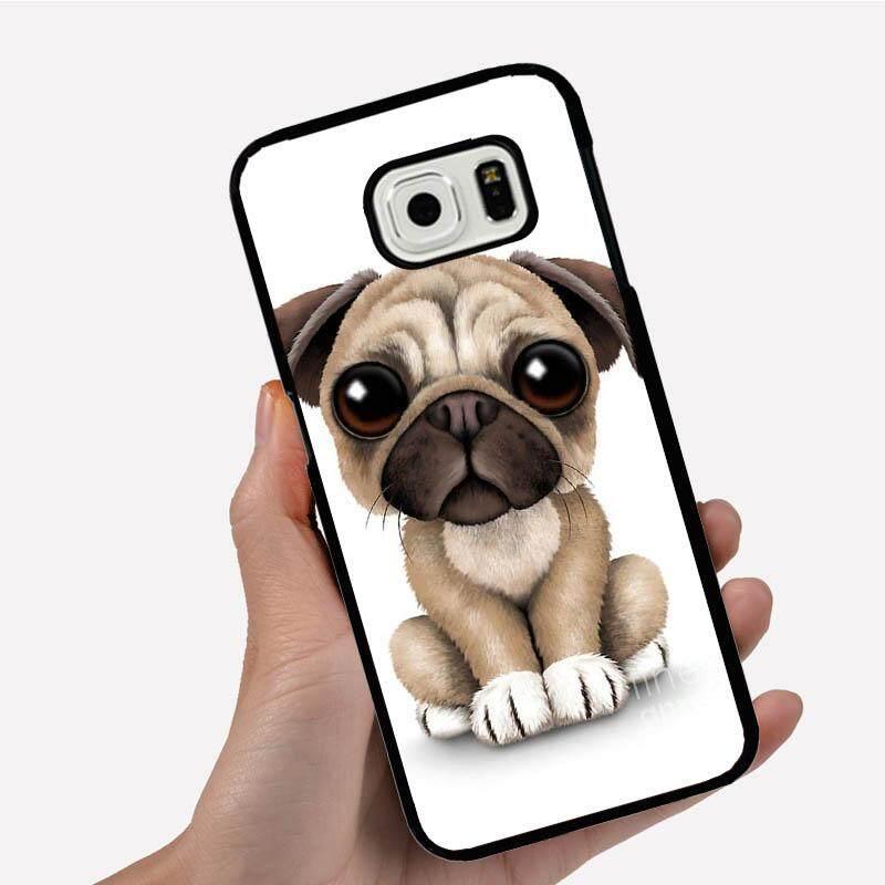 Phone Case For Samsung Galaxy S3 mini Pug Dog Animal With Big Eyes Cartoon Image Pattern Plastic Anti-Knock Phonecase Cover