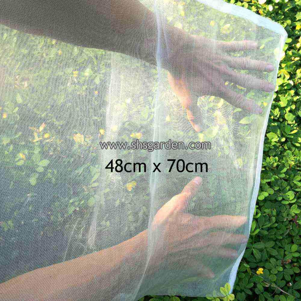 Extra Large Garden Net (48x70cm) Nylon Fruit Mesh (bag) for Pest Control (Insects and animals) Better than Organza Bags