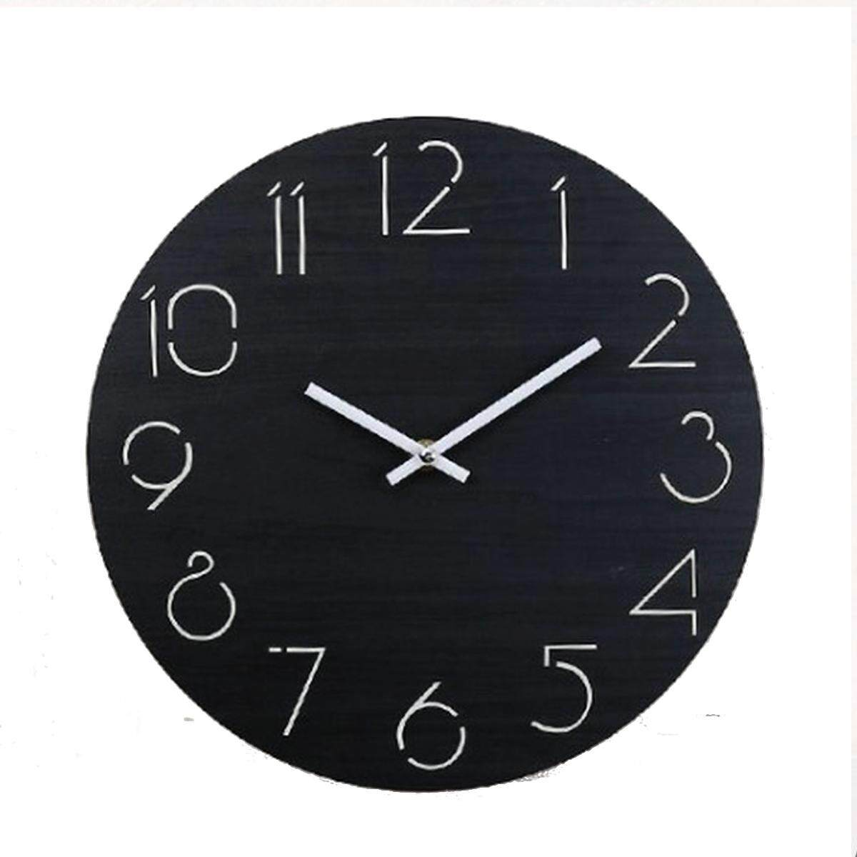 Creative Wall Clock Living Room Minimalist Modern Home Round Personality Si J5G5