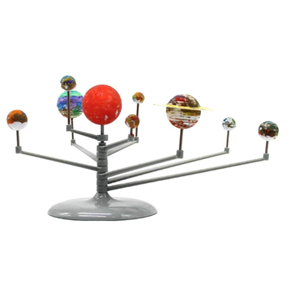 Magideal Diy Assembly Glow Solar System Planetarium Model Kids Imagination Training By Magideal.