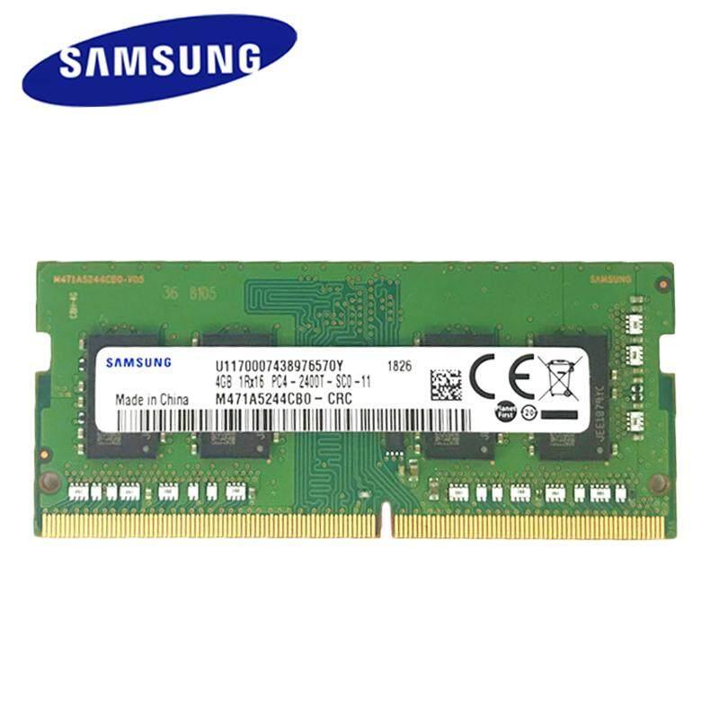 sec DDR4 4GB Laptop Memory RAM 2400mhz Memoria260-pin SODIMM RAM Stick for  Notebook 100% Original 4GB M471A5244CB0-CRC