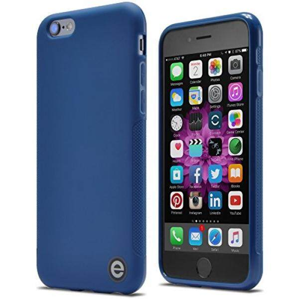 Smartphone Cases iPhone 6s Case, Engine Design Group Slim-Fit Ultra-Grip TPU Case for iPhone 6 and 6s (Indigo Blue) - intl