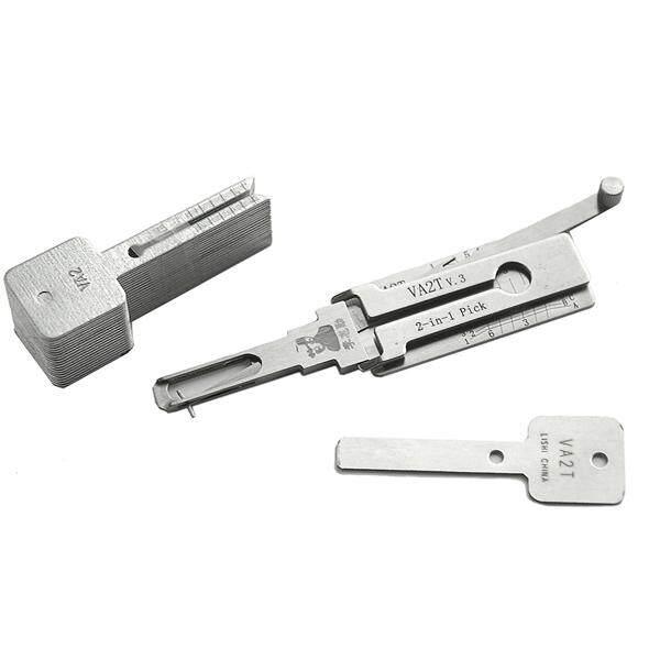 Hình ảnh NE66 Volvo 2 in 1 Car Door Lock Pick Decoder Unlock Tool Locksmith Tools