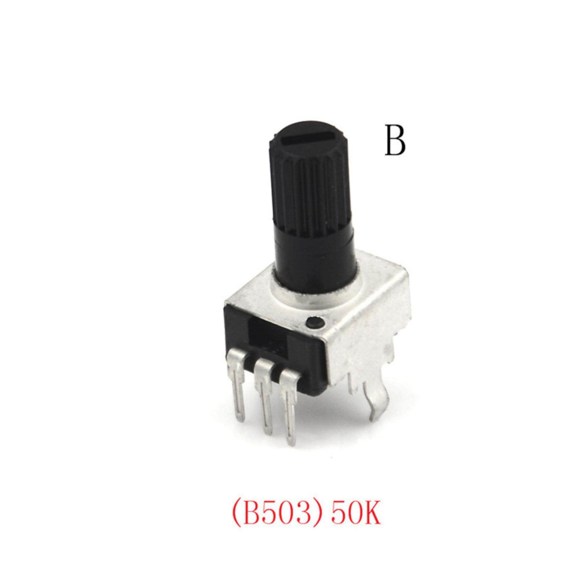 Buy Sell Cheapest Adjustable Potentiometer Module Best Quality Potensio 50k Mono 10 Pcs Rv09 5 100 K Potensiometer Resistensi 125 Mm Poros 3 Pin