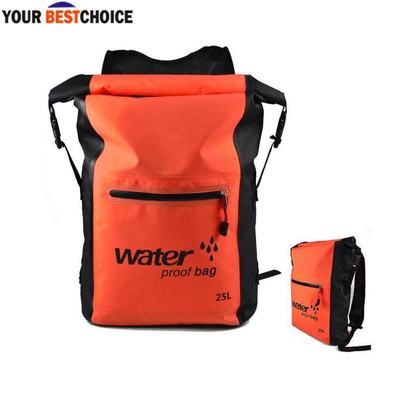 4a3e57133ddf YBC 25L Waterproof Dry Backpack Rucksack Canoe Kayak Surfing Storage  Outdoor Activities Bag