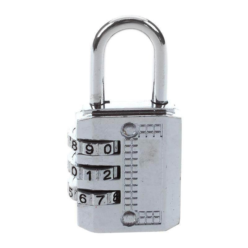 Combination Padlock Travel Suitcase Luggage Lock Password Reset Type: 3 #