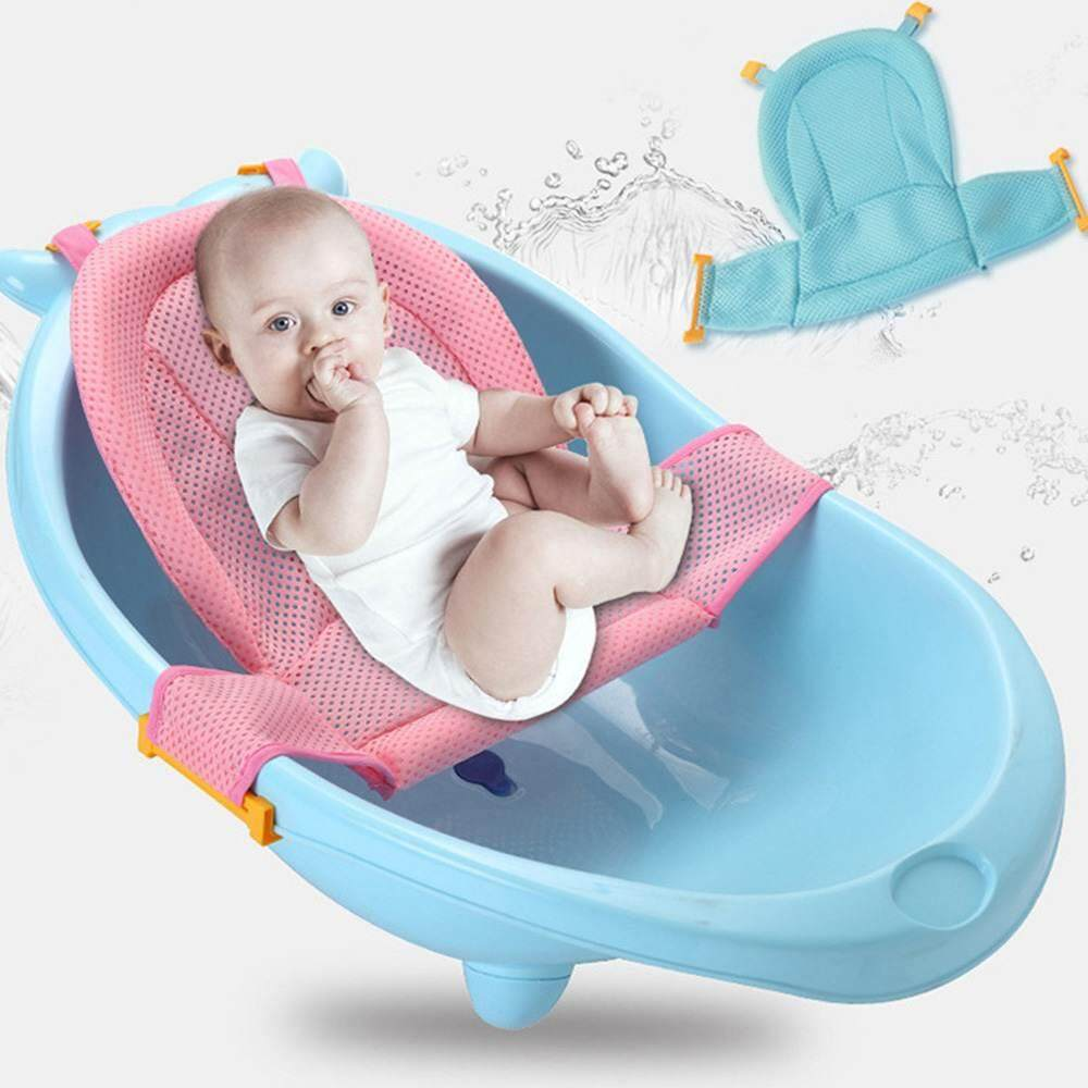 Mother & Kids Bath & Shower Product Four Colors Newborn Infant Baby Bath Tub Ring Seat Children Shower Toddler Kid Anti Slip Security Safety Chair Care 0-24 Months