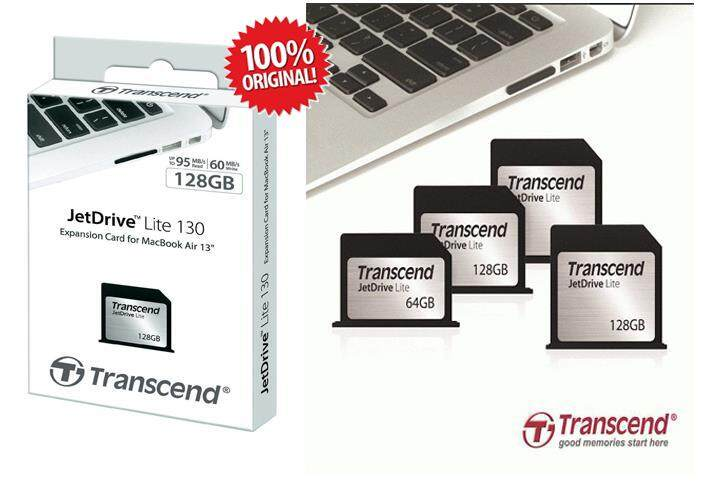 "Transcend Jet Drive Lite 64GB 330 (Memory Card) for MacBook Pro (Retina) 13"" (Late 2012~Early 2015) JetDrive Lite 330"