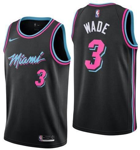 pretty nice ea733 0b1da ... cheap size small black basketball clothes swingman jersey nba miami heat  number 3 mans dwyane wade