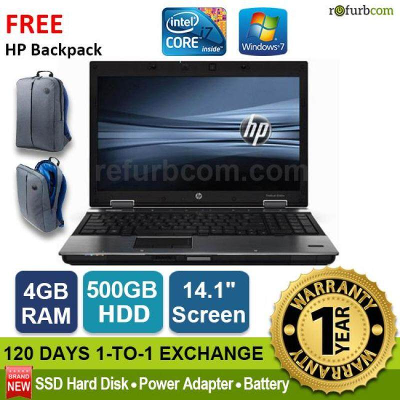 HP ELITEBOOK 8440P / INTEL CORE I7 1ST GEN (500GB SATA) [refurbished] Malaysia