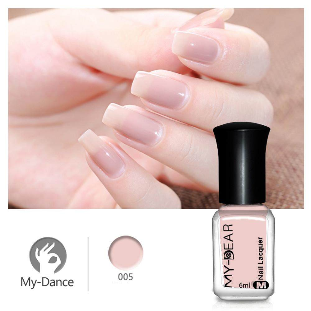 Fashion Multifunctional 6ml Nail Art Water-based Peel Off Peelable Polish Nail Lacquer Care Nail Art E - intl Philippines