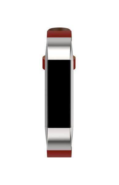 Qyshop Replacement Genuine Leather Band Strap Bracelet For Fitbit Alta Tracker Black