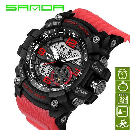 Sanda 759 Military Watch Men Waterproof Sport Watch For Mens Watches Top Brand Luxury Clock 759 By Free Link.
