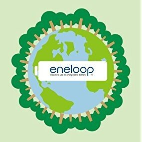 eneloop rechargeable recyclable batteries