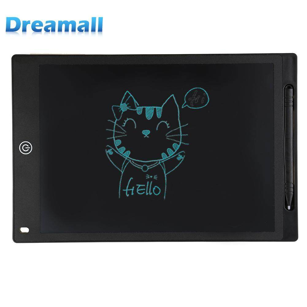 12inch Digital LCD Drawing Tablet Pad Writing Graphic Board Notes Reminder