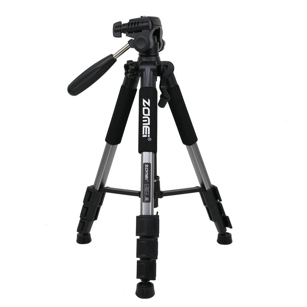 Zomei Q111 56 inch Lightweight Aluminum Tripod with Bag - Silver