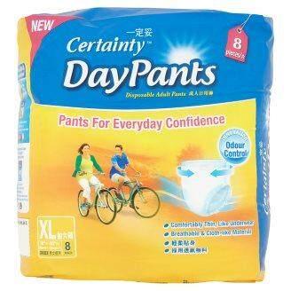 Certainty Daypants Disposable Adult Pants Regular Pack (XL-Size)
