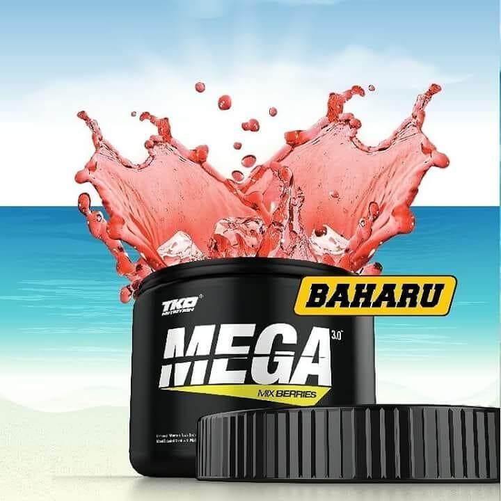TKO Fat Burner MEGA 3.0 Mix Berries (Latest 2018) + Free Shaker