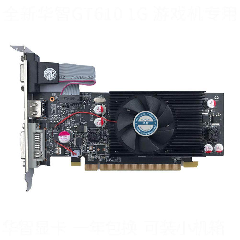 Big Sale Geforce Chipset Video Graphics Card GT610 1GB DDR2 for PC and LP Case
