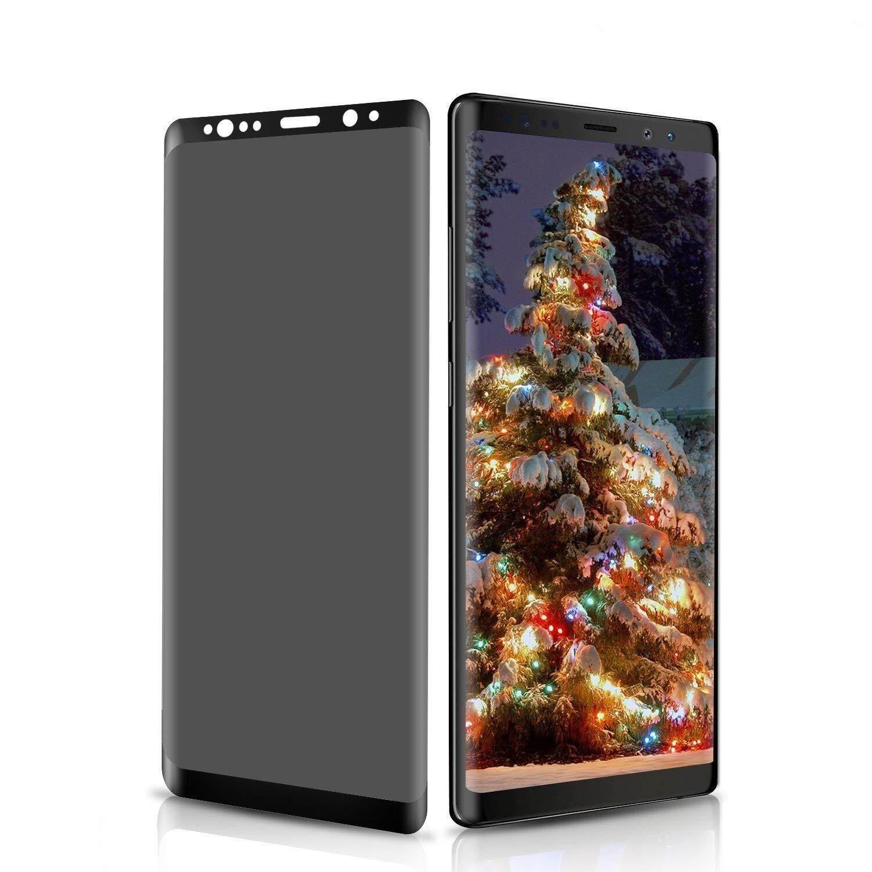 Super Harga MURAH! samsung GALAXY Note 8 Pelindung Layar Topcanyon Note 8 [Versi Pembaruan] Premium Kebijakan 3D Melengkung Anti Spy Tempered [Case ramah] Kaca Layar Film Samsung Galaxy Note 8 (Hitam)