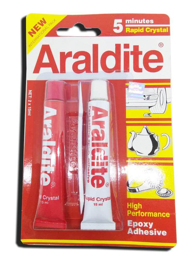 ARALDITE RAPID 5 MINUTES GAM TAN (RED)